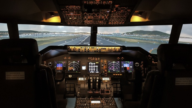 B747 Simulator