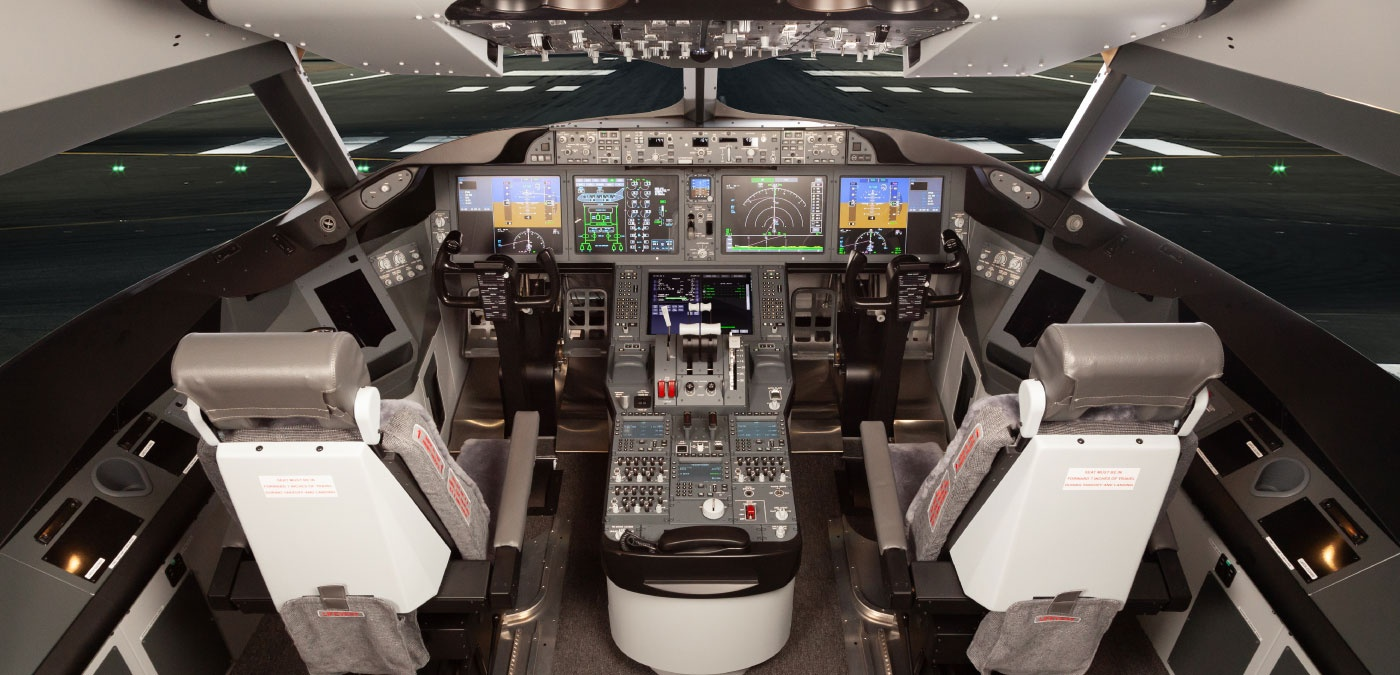 B787 Cockpit 01, by Flightdeck Solutions