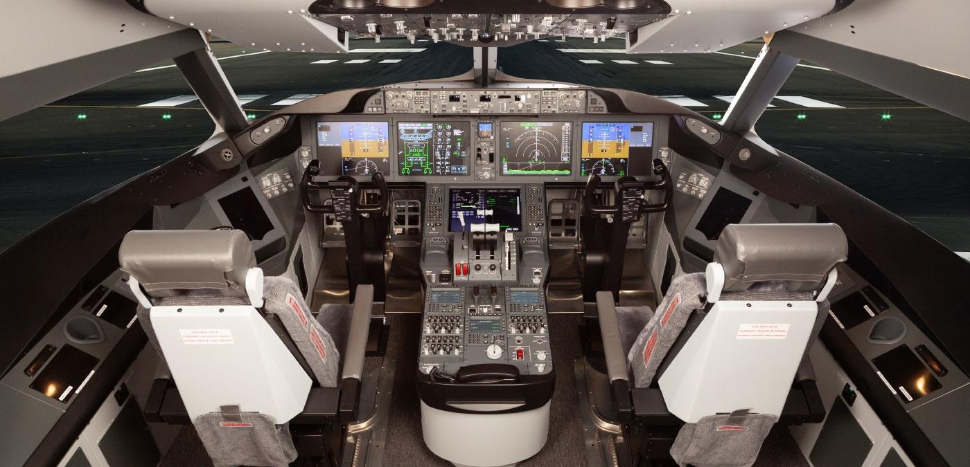 B787 Cockpit 01, by Flightdeck Solutions